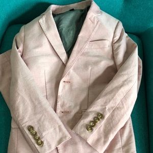 Boys Pink Crewcuts suit